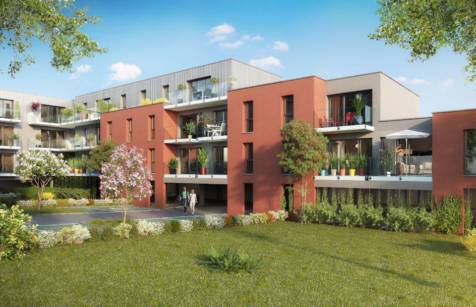 Programme immobilier neuf Esquisse