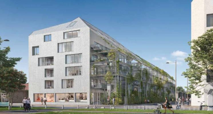 Programme immobilier neuf Bordeaux quartier Bastide Niel