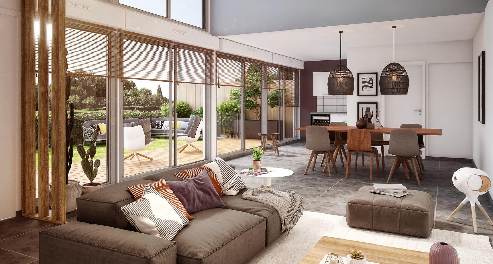 Programme immobilier neuf Bordeaux proche Collège Saint André