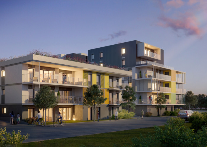 Programme immobilier neuf New Park Jura