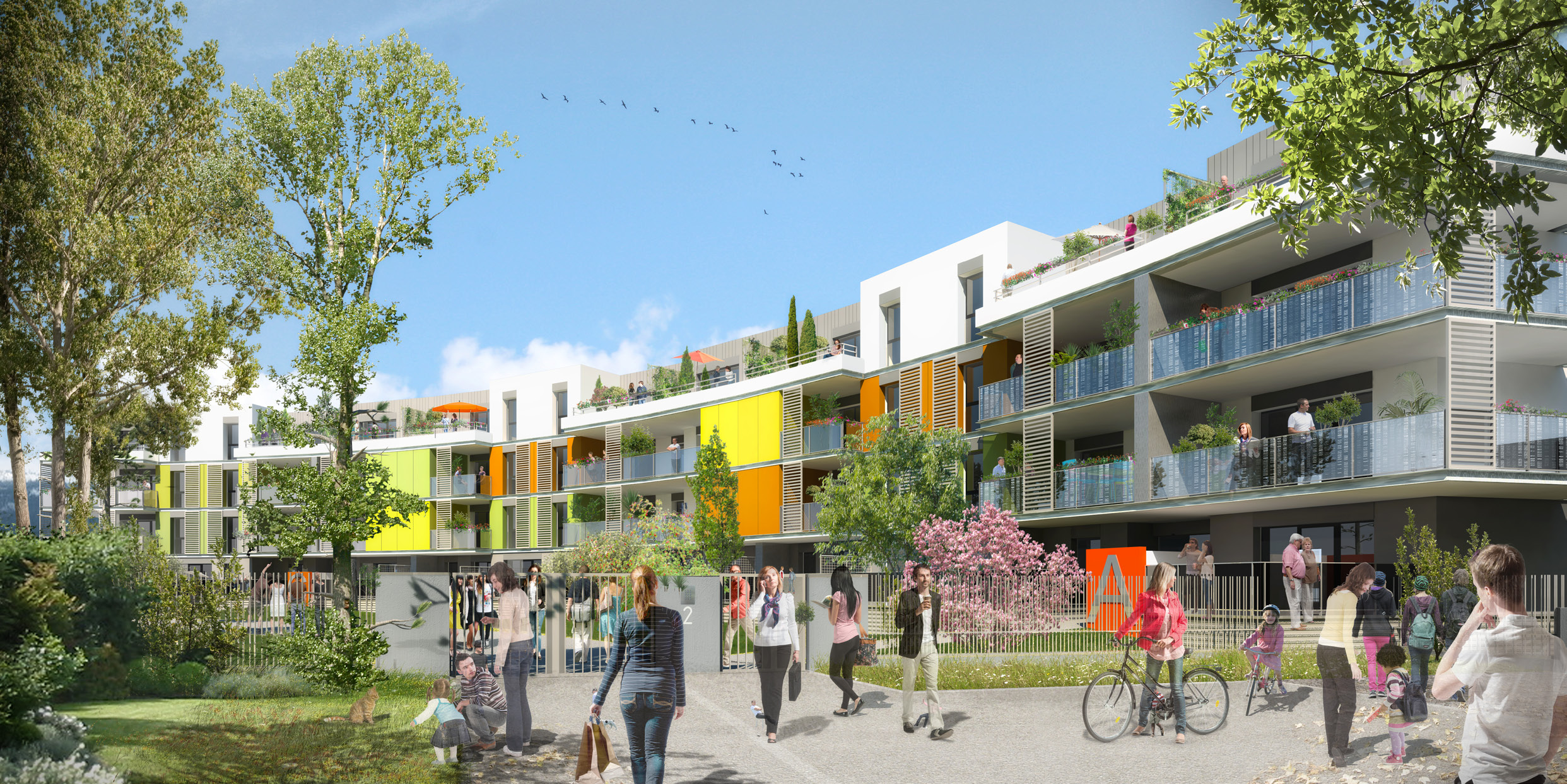 Programme immobilier neuf New Park Allondon