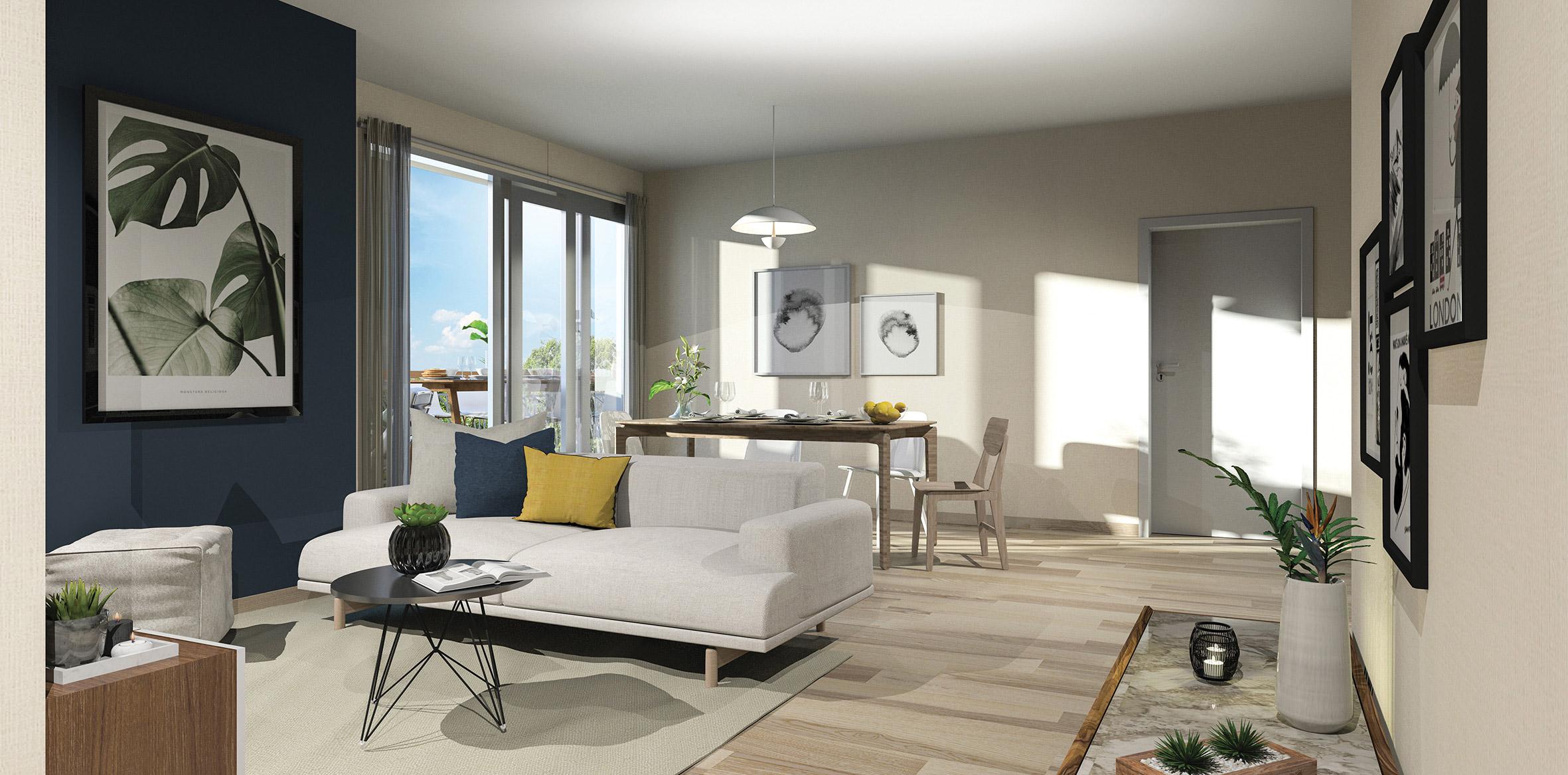 Programme immobilier neuf Sainte-Geneviève-des-Bois coeur centre-ville