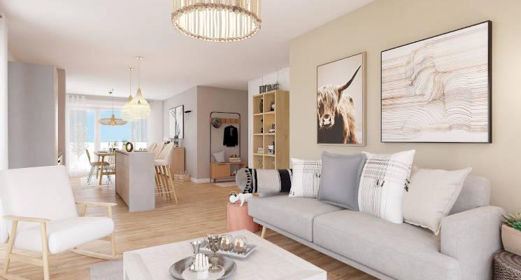 Programme immobilier neuf Carignan-de-Bordeaux entre ville et campagne