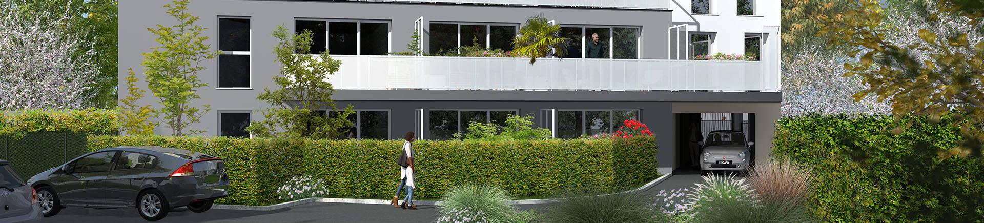 Programme immobilier neuf Villenave d'Ornon coeur quartier Bocage