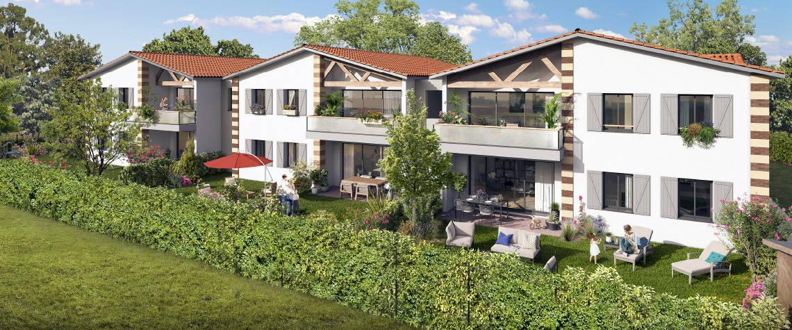 Programme immobilier neuf Parempuyre à 10min à pied du centre ville