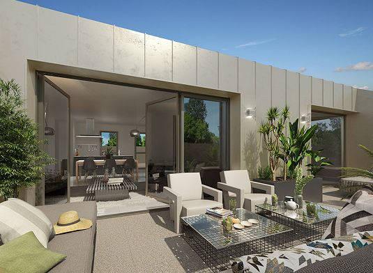 Programme immobilier neuf Villenave d'Ornon à deux pas du Parc Sourreil